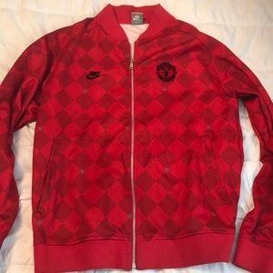 Men's Manchester United Zip Up Jacket